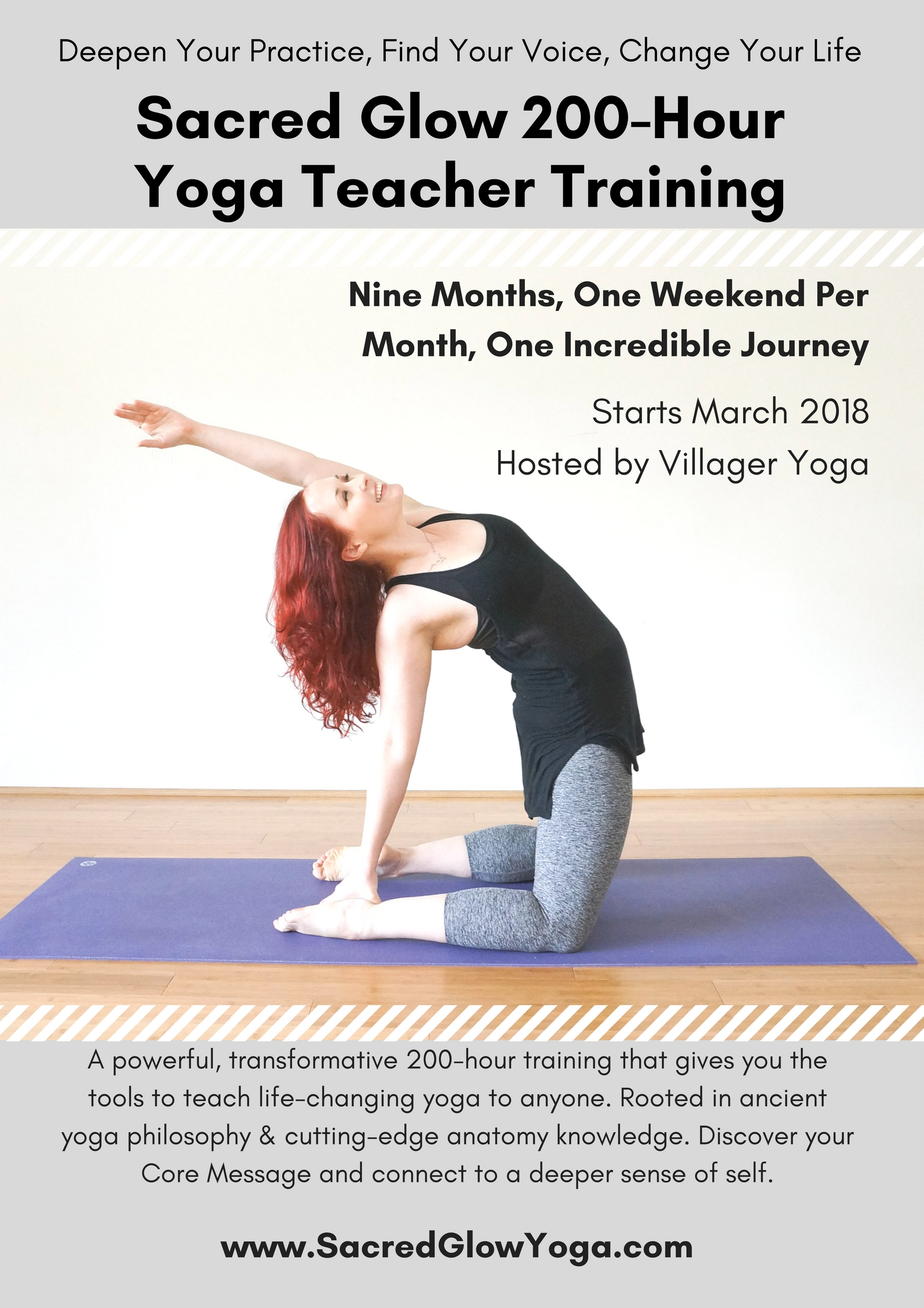 2018 Sacred Glow 200-Hour Vinyasa Yoga Teacher Training